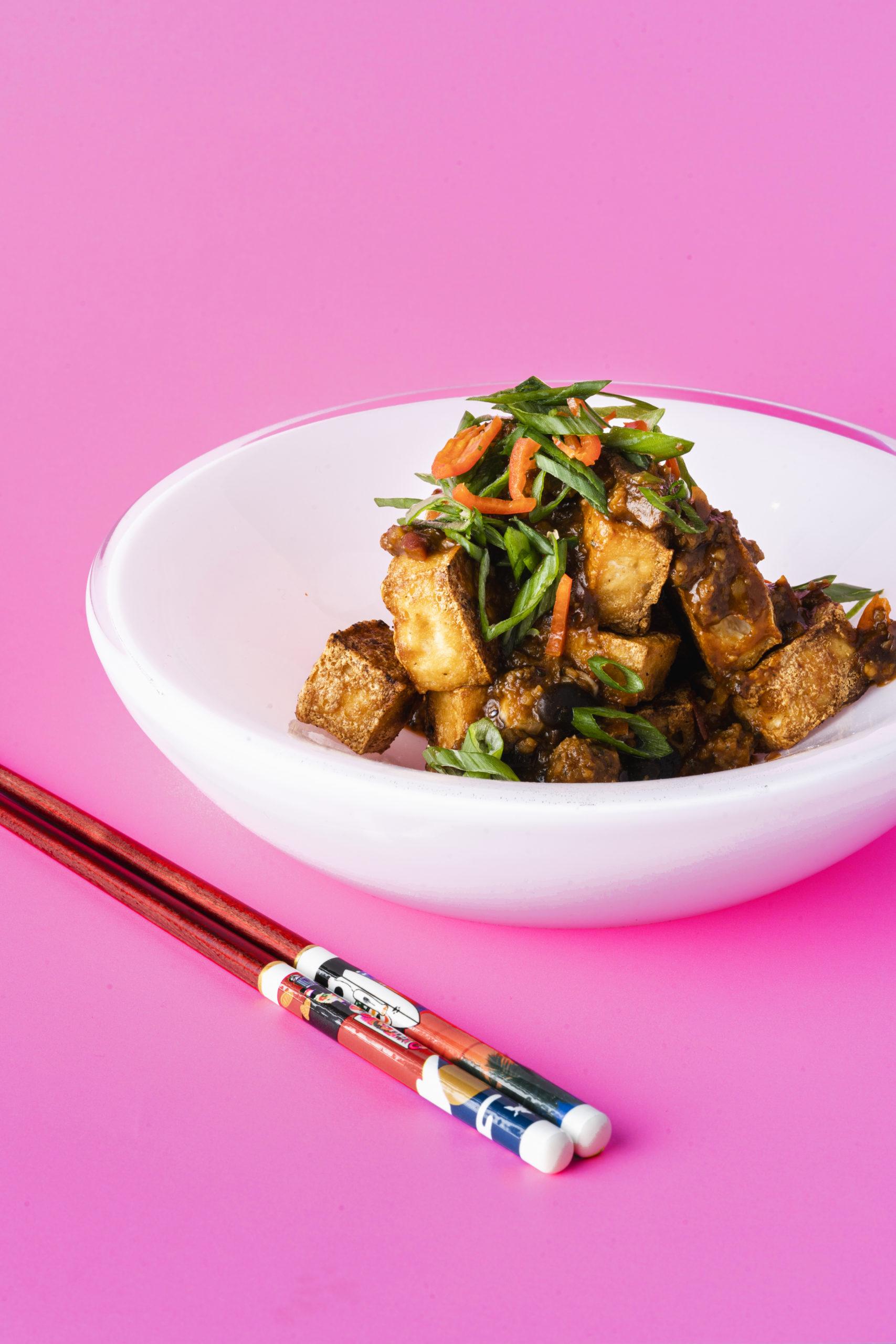 Mapo Tofu Bites